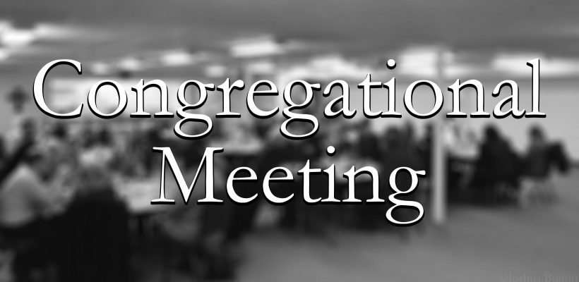 Congregational Meeting Call