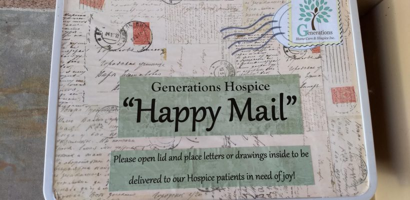 Generations Hospice Happy Mail